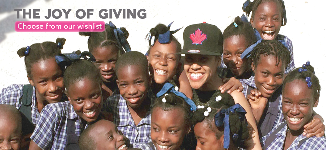 The Joy of Giving_Homepage Banner