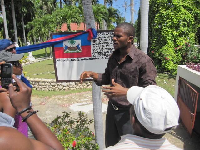 Haiti, 2014, Third World Awareness, TWA, volunteers, slavery, museum, learning, education, history, haitians