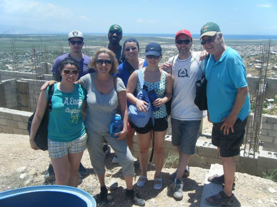 Haiti, 2014, TWA, Third World Awareness, volunteers, friends, school, construction site, Canaan, education