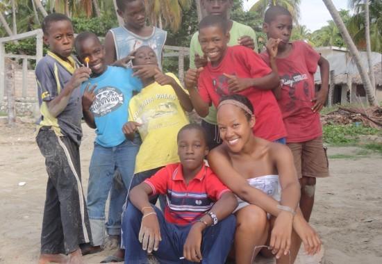 Haiti, 2013, Haitian boys, Haitian, volunteer, boys playing, smiles, happy kids