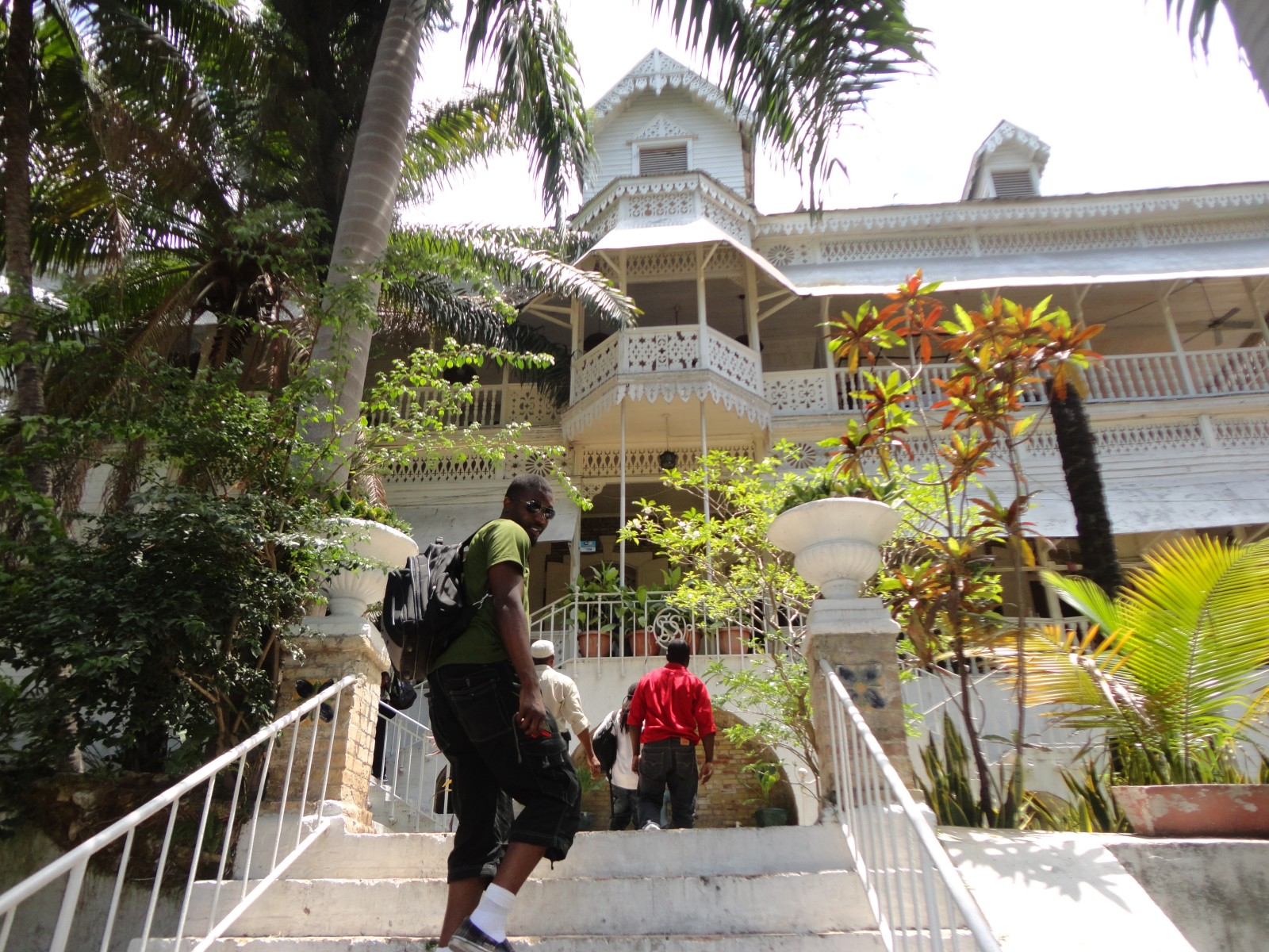 2013, Haiti, Cité Soleil, TWA. Third World Awareness, Hotel Oloffson, hotel