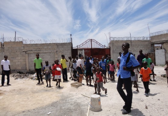 2013, Haiti, Cité Soleil, TWA, Third World Awareness, charity, non-profit, school, education, kids, Haitian, children, schoolyard, volunteers