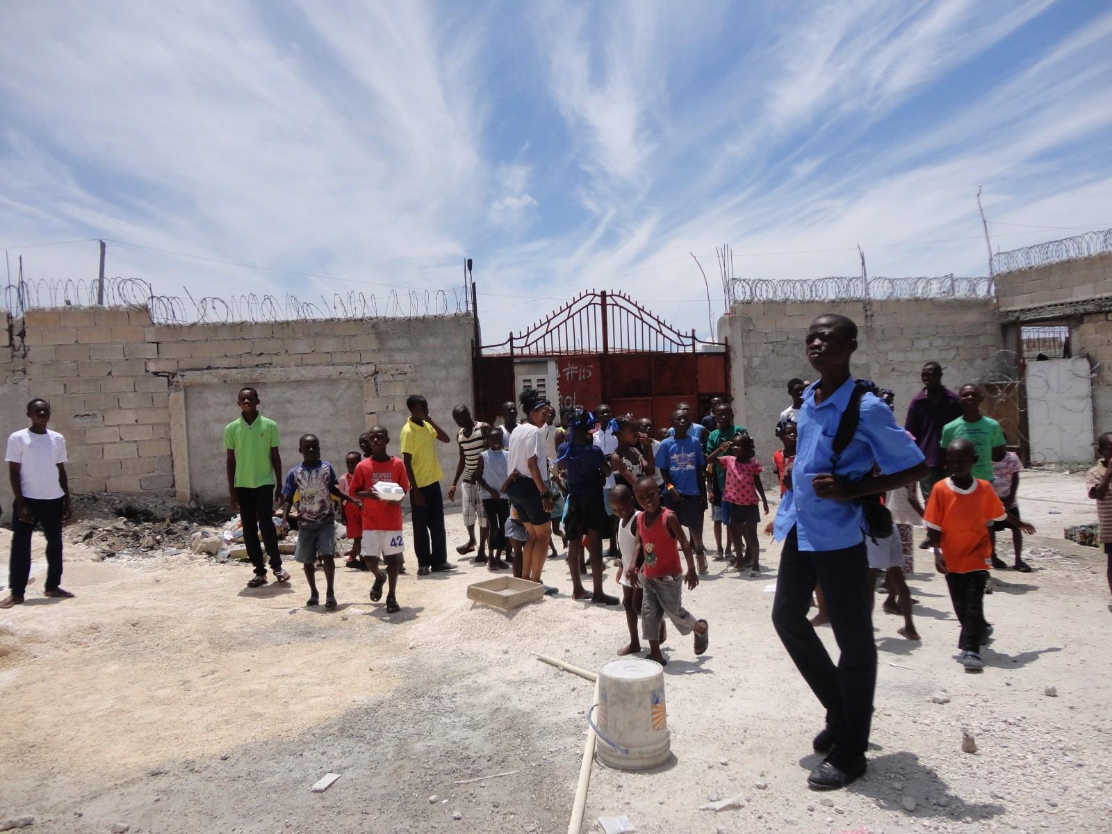 2013, Haiti, Cité Soleil, TWA, Third World Awareness, charity, non-profit, school, education, kids, Haitian, children, schoolyard, volunteers
