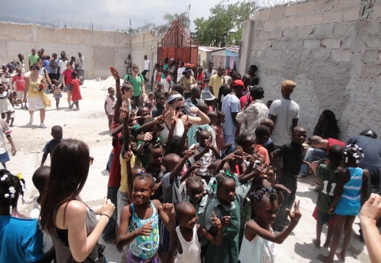 2013, Haiti, Cité Soleil, TWA, Third World Awareness, children, Haitian, kids, playing, education, learning, friends, volunteers, school