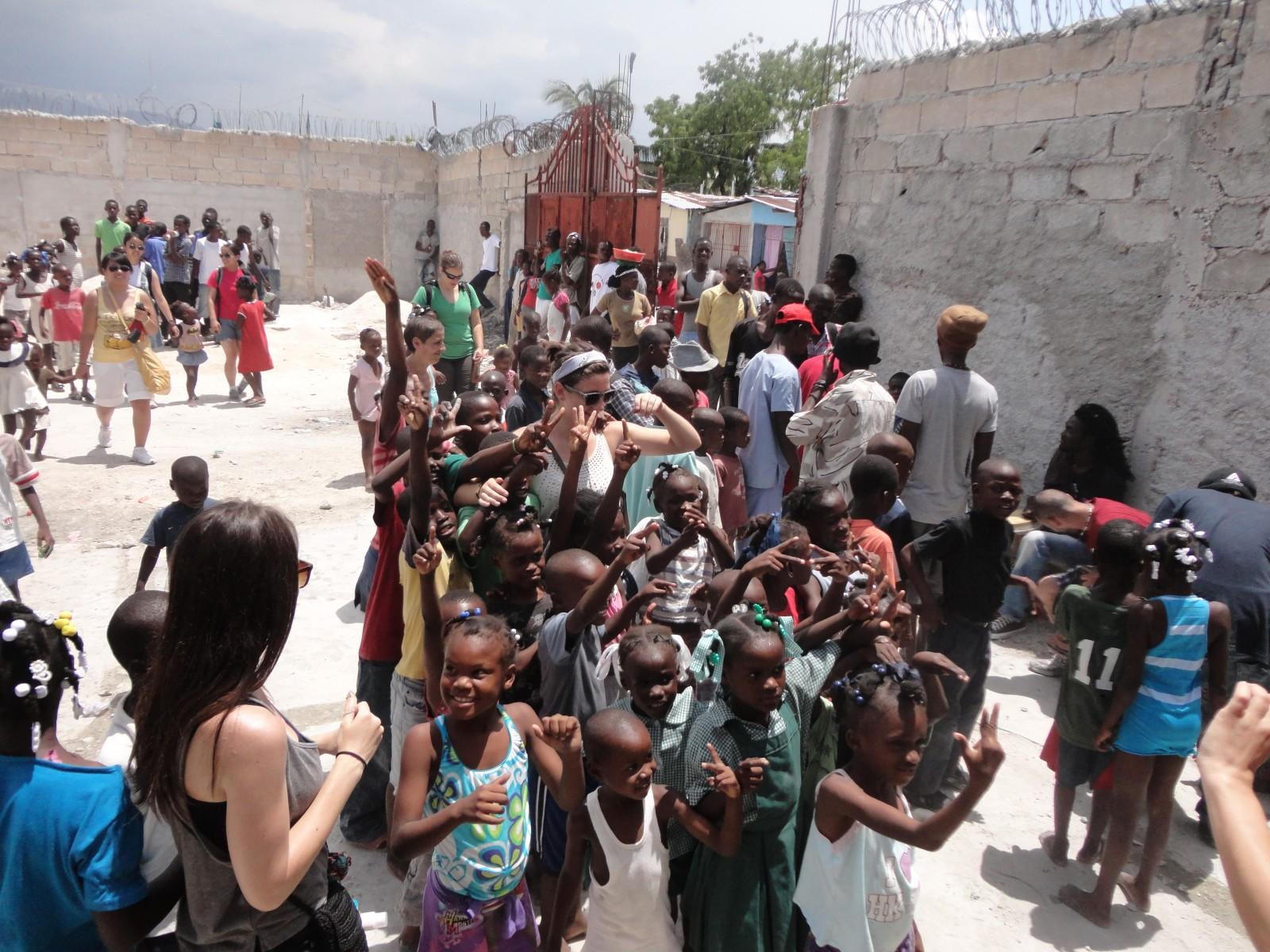 2013, Haiti, Cité Soleil, TWA, Third World Awareness, children, Haitian, kids, playing, education, learning, friends, volunteers, school