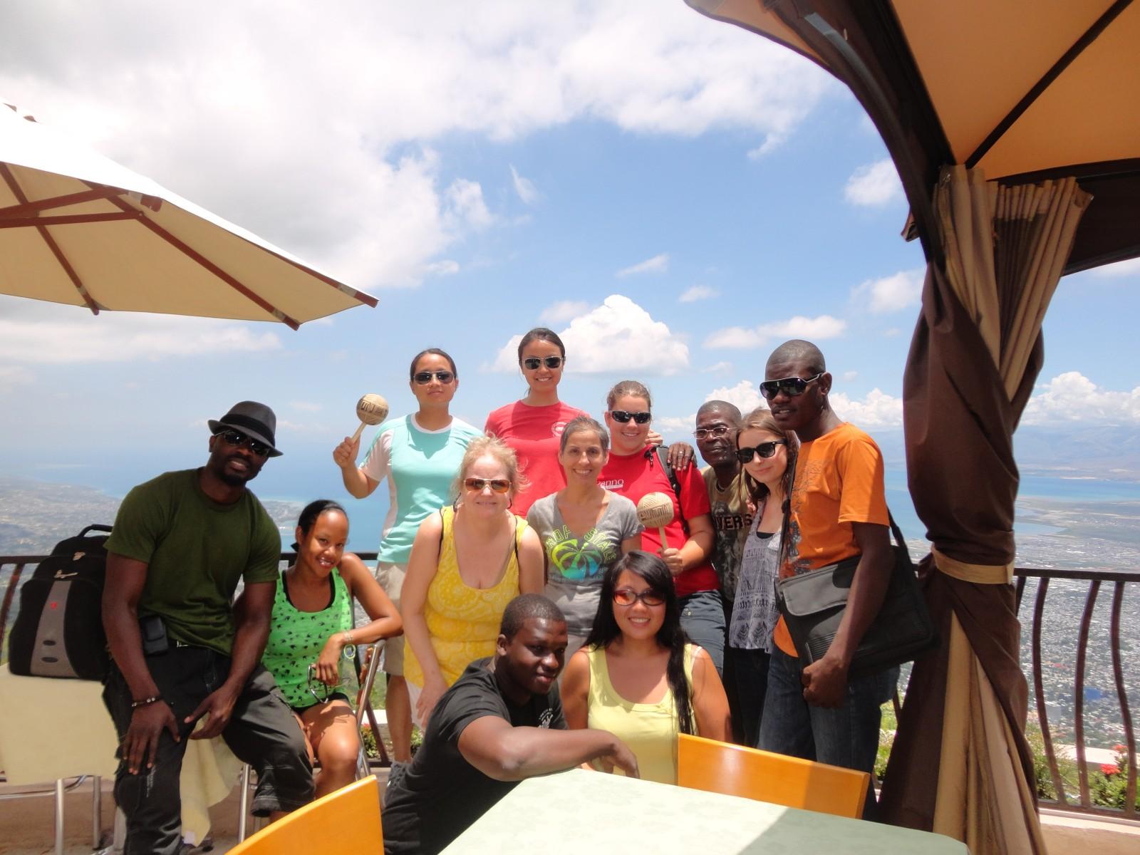 2013, Haiti, Cité Soleil, TWA, Third World Awareness, volunteers, friends, guides, mountain, charity, non-profit