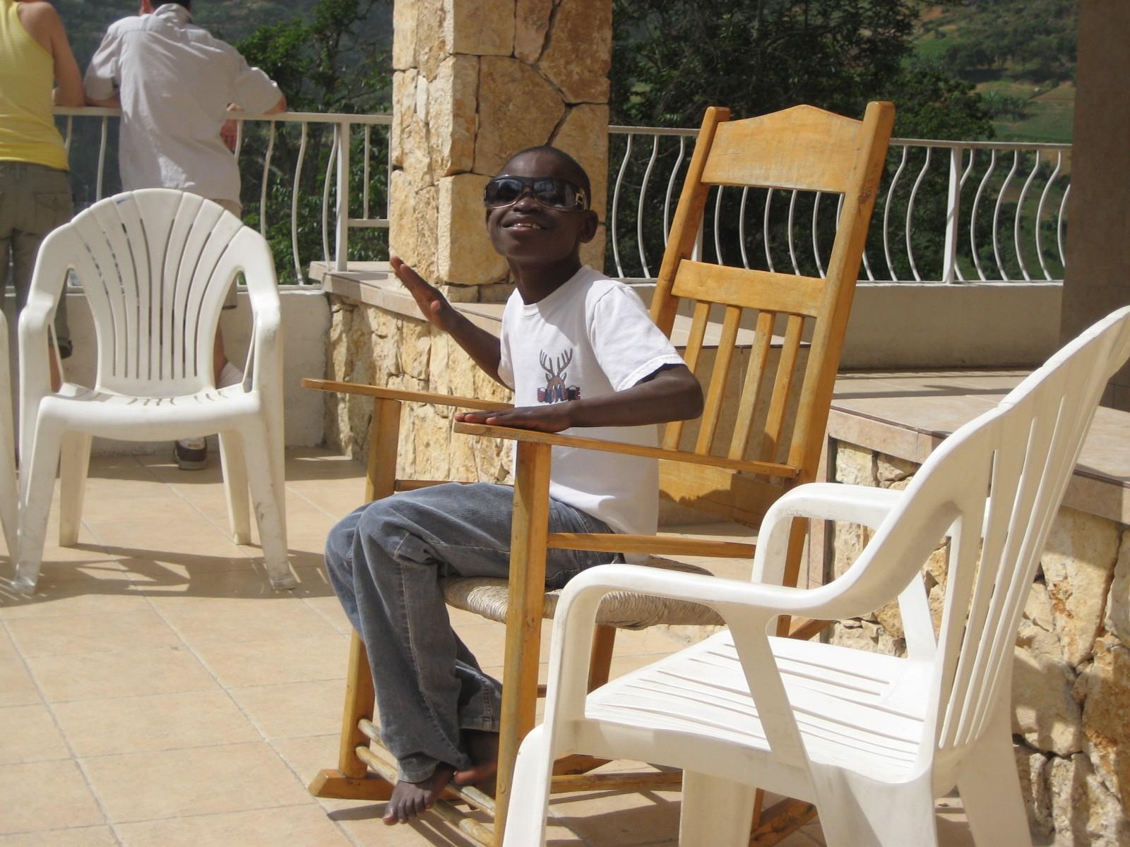 2007, Haiti, TWA, Third World Awareness, charity, non-profit, volunteering, helping, Wings of Help, sunshine, Haitian, boy