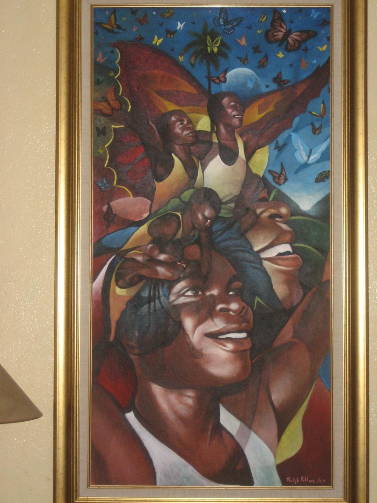 2007. Haiti, TWA, Third World Awareness, non-profit, charity, artwork, painting, Haitian, art, dance