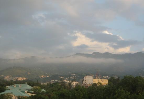 2007, Haiti, Port au Prince, skyline, mountains, non-profit, charity