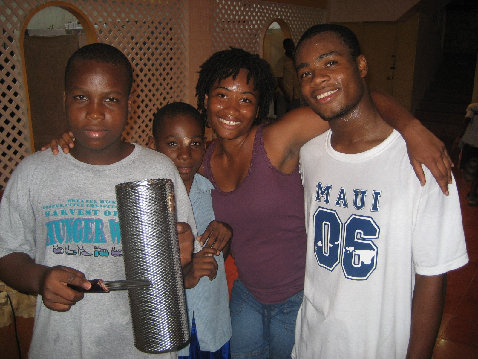 2007. Haiti, TWA, Third World Awareness, charity, non-profit, helping, volunteering, friends, Haitian boys, kids, love, friends