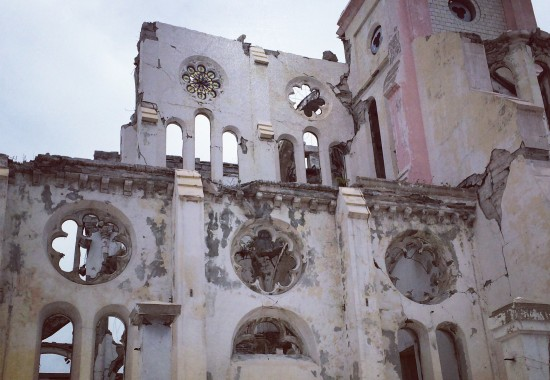 TWA, Third World Awareness, Haiti, Haitians, history, historical site, broken building